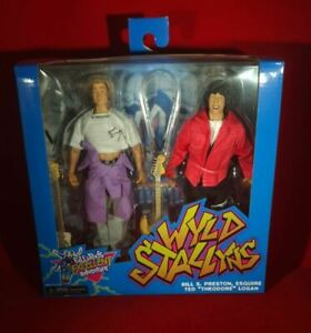 Bill and Ted's Excellent Adventure – Wyld Stallyns Clothed Neca Action Figure
