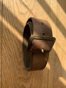 03 Pattern Leather WW 1 dated Waist Belt & Buckle 1915 Dated/| marked