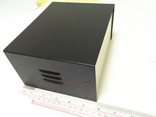 145x180x92 Black DIY Metal Electronic Project Box / Transformer Enclosure Case