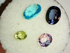 Gemstones Genuine Mixed Faceted Lot Parcel Set (Free $25 Gift)