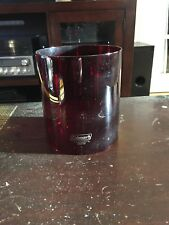 Vintage Coleman Lantern Red Glass Replacement Globe