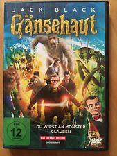 Gänsehaut (2016)/ DVD/ Fantasy/Monster Spaß/ Jack Black/ gebraucht/gut!