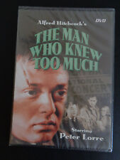 ALFRED HITCHCOCK'S The Man Who Knew Too Much DVD Thin Case 2004 Digiview NEW
