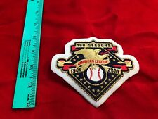 NEW American League 100 Seasons Patch  MLB * Extra patches ship FREE * Iron On