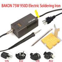 BAKON Digital 950D 75W Portable Electric Soldering Iron W/ T13-B Solder Head Tip