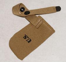 WWII U.S ARMY M1 GARAND CARBINE CANVAS DUSTPROOF MUZZLE COVER -32432