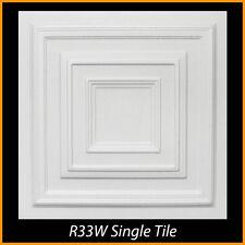 Ceiling Tiles Glue Up Styrofoam 20x20 R33 White lot of 100 pcs 270 sq ft