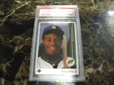 1989 Ken Griffey Jr. Upper Deck #1 card/ PSA 8