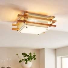 LED Deckenlampe Zuna Lampenwelt Holz Deckenleuchte 4-stufig dimmbar Warmweiß