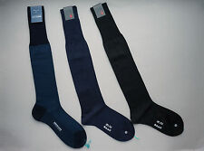 1 pair Sozzi Calze 100% silk socks over the calf - size M US 8/10 - for Tuxedo