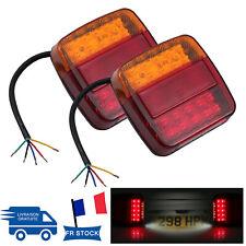 2x 12V 20LED Rear Queue Lampe Feux Arrière Lumières Camion Voiture Remorque Neuf