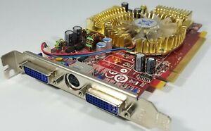 MSI ATI AMD HD 2600PRO RX2600PROT2D512E 512MB ATX Dual DVI Video Card *Read*