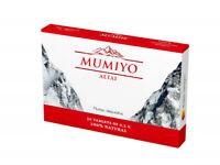 Altai Shilajit Premium Quality Purified Mumijo Mumio Mumie Мумие 30 tabl * 0,2 g
