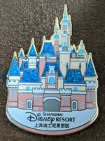 Disney Pin Trading Shanghai Disney Resort Enchanted Storybook Castle Pin
