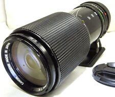 Canon 70-210mm f4.0 Manual Lens adapted to SONY E NEX ILCE a3500 a6300 5R camera