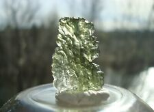 BESEDNICE Moldavite • 1.9 grams / 9.5 carats • Beautiful Quality!