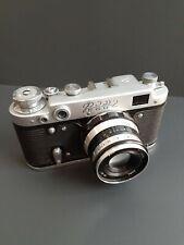 "RUSSIAN USSR ""FED-2"" RANGEFINDER camera + INDUSTAR-61 lens, f2.8/52mm"