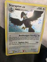 Pokemon Karte Staraptor Lv.54 16/130 Holo Rare Selten Card