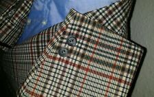 Vtg 36S Hart Schaffner Marx 2pc Suit BOLD Check Tweed Plaid Jacket Pant 32 X 28