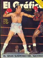 NICOLINO LOCCHE Vs Antonio Cervantes 1971 Magazine Boxing Argentina
