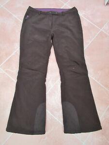 "Crane - Unisex Black Light Fleece Lined Ski / Snow Pants - size L 32/34"" W 30"" L"