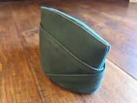 Army DSCP Garrison Military Envelope Hat Cap Valor Collection Sz 7 1/8 Green