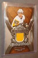 2018-19 18/19 Sidney Crosby UD Artifacts Da-SC divisional jersey card