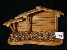 Zii Precious Moments-Wooden Nativity Manger/Creche/Stable