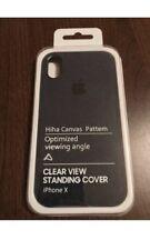 Apple iPhone Custodia in tessuto morbido X-Blu Marino/Blu Scuro