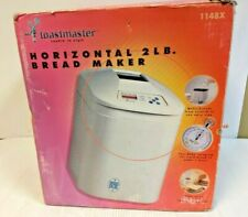 TOASTMASTER HORIZONTAL 2 LB. BREAD MAKER 1148X