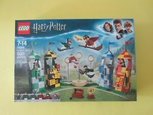 Lego Harry Potter Quidditch Match 75956 New Factory Sealed Box Retired Set!