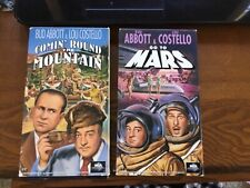 Abbott & Costello:  Lot of 5 VHS. Must see!  Excellent condition