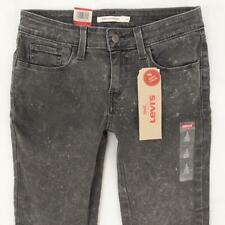 NEW Ladies Womens Levi's 535 SUPERSKINNY Ankle Stretch Grey Jeans W28  BNWT