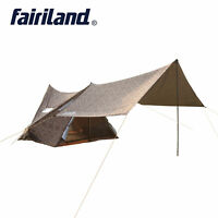5 person Family camping tent with large rain fly tent tarp 110.2x94.5x76.8in