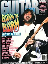 Guitar World Magazine October 1992 - Born to Burn - Why I Play Guitar - Clapton
