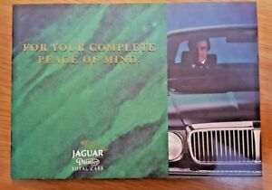 Jaguar Daimler XJ40 XJ6 & XJ12 Drivers total care  booklets card handbooks RARE