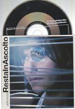 Laura Pausini Resta In Ascolto CD SINGLE card sleeve
