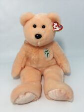 """Ty Large Plush Beanie Buddy Dearest Bear 14"""" Mother's Day Gift"""