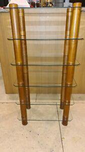 Optimum 2000 Hifi Stand/Hifi Unit - Light Oak And Glass (£340 New)