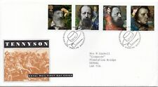 1992 Sg 1607/1610 Tennyson First Day Cover