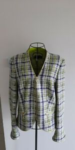 ESCADA SILK BLEND JACKET SIZE 38