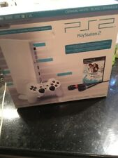 Sony PlayStation 2 Slim Limited Edition Ceramic White Console PS2 Singstar New