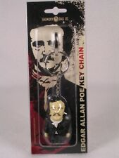 Harmony Kingdom Pot Bellys / Belly Key Chain Edgar Allan Poe #Pbkhep New In Pkg