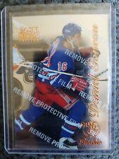 1996-97 Pinnacle Select Certified Edition ROOKIE RC Daniel Goneau Rangers #107