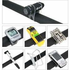 Chic Bicycle Silicone Tie Strap Bandage Band Flashlight Phone Holder Mount Stand