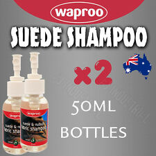 SUEDE CLEANER SHAMPOO  x2 Pack - Cleaner for all suede, nubuck and fabrics shoes