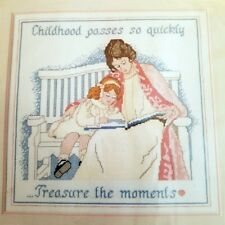 Treasure the Moments Counted Cross Stitch Kit Dimensions 3600 Childhood Vintage