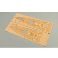 Wooden Deck For Tamiya 78011 1:350 Scale British HMS Prince Of  Wales Model #