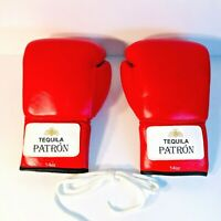 Boxing or Sparring 14oz Gloves - Rare & Unique Tequila Patron Red w/ White Laces