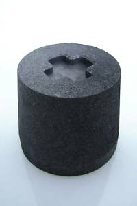 The Perfect Tool Table Top Pedstal Base Graphite Glass
